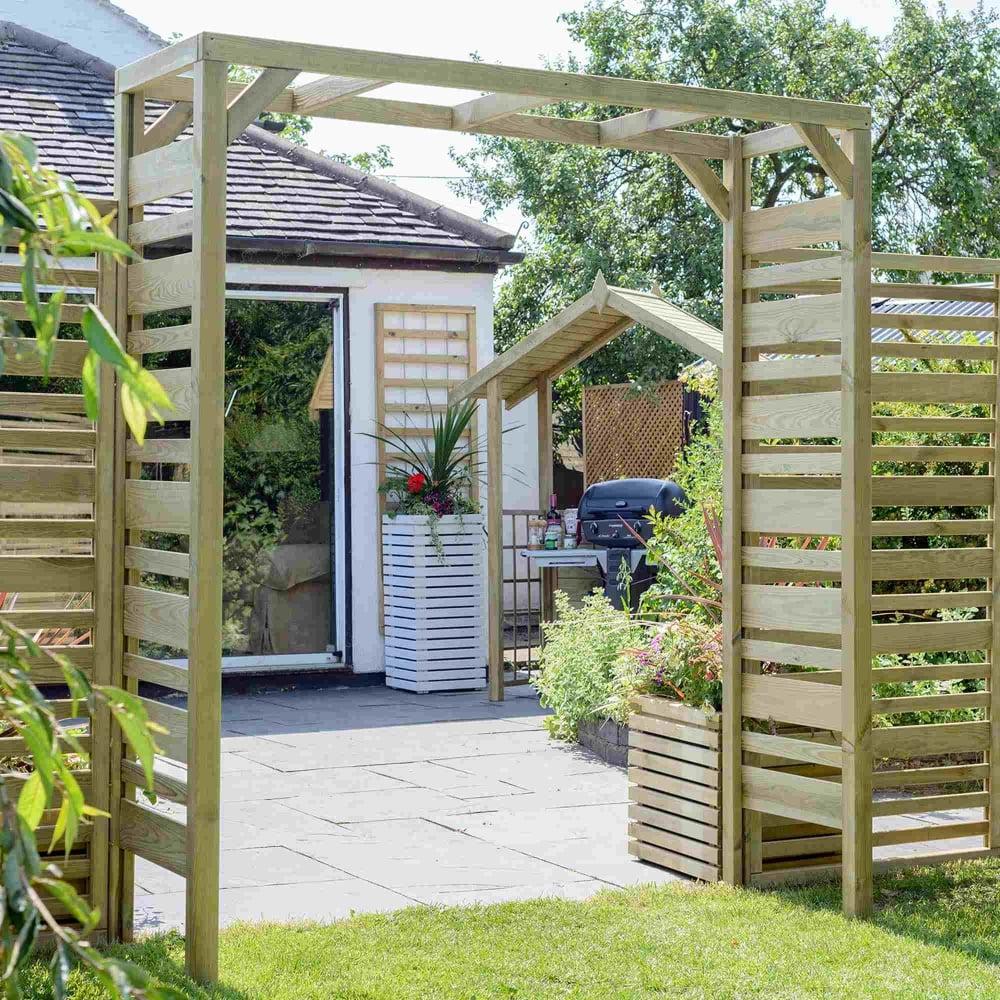 Grange Urban Garden Arch - Garden Street