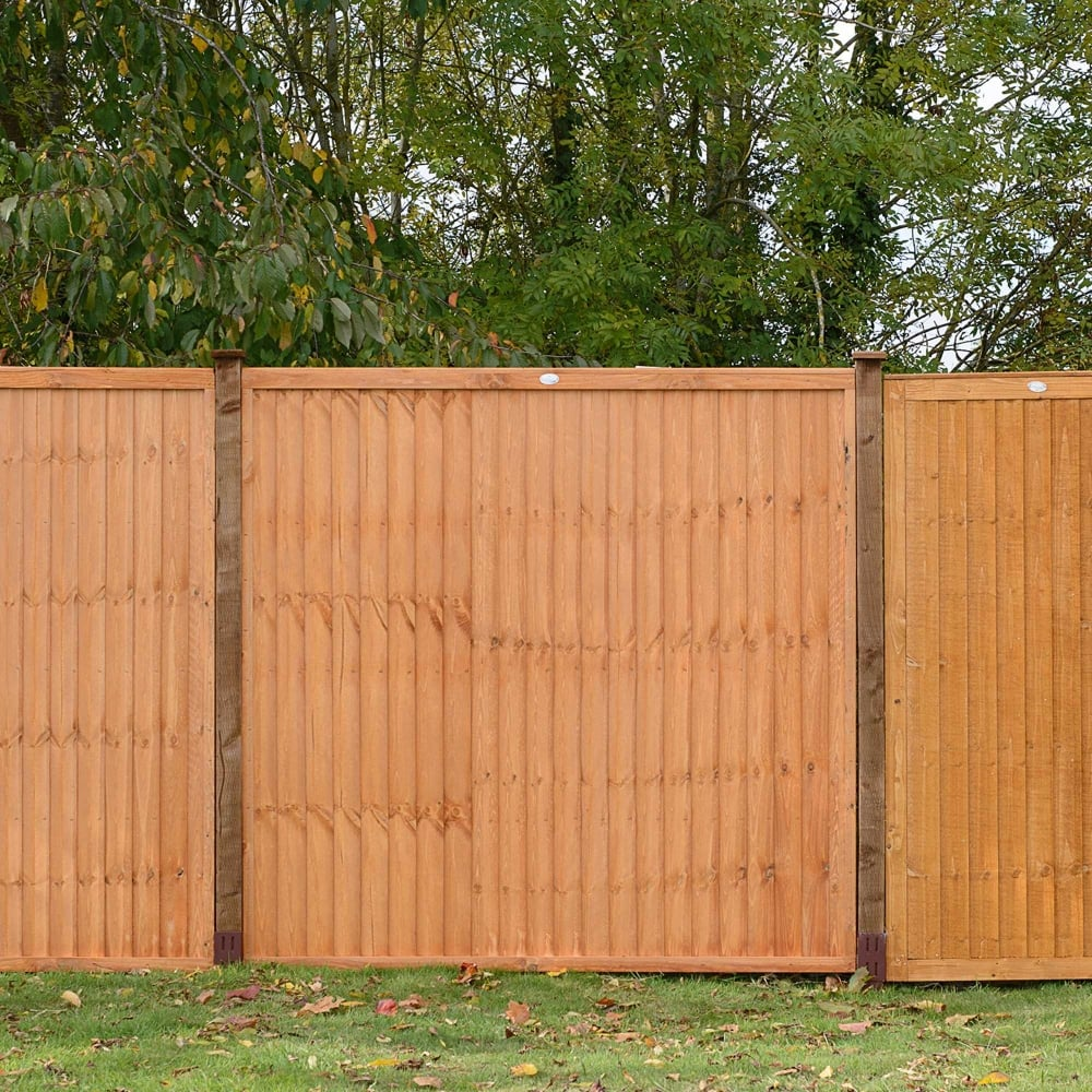 Grange Vertical Board Fence Panel Gardenstreet