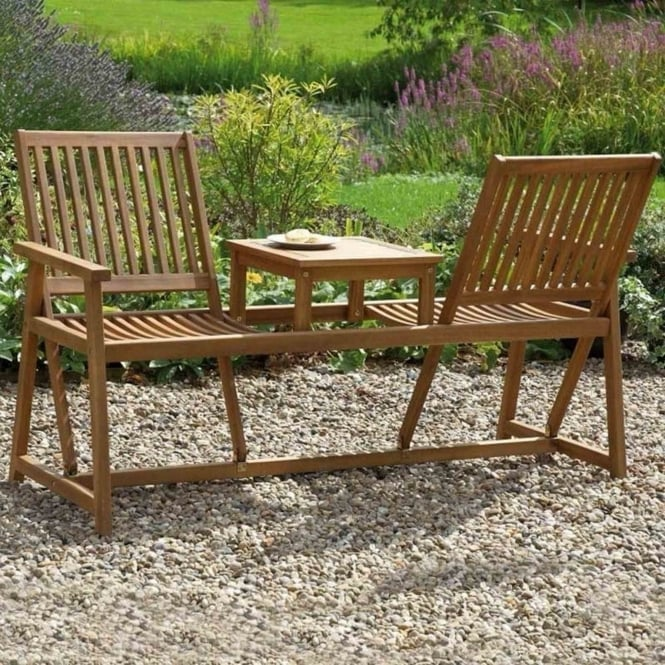 Greenhurst Acacia Companion Seat With Switchable Backrests