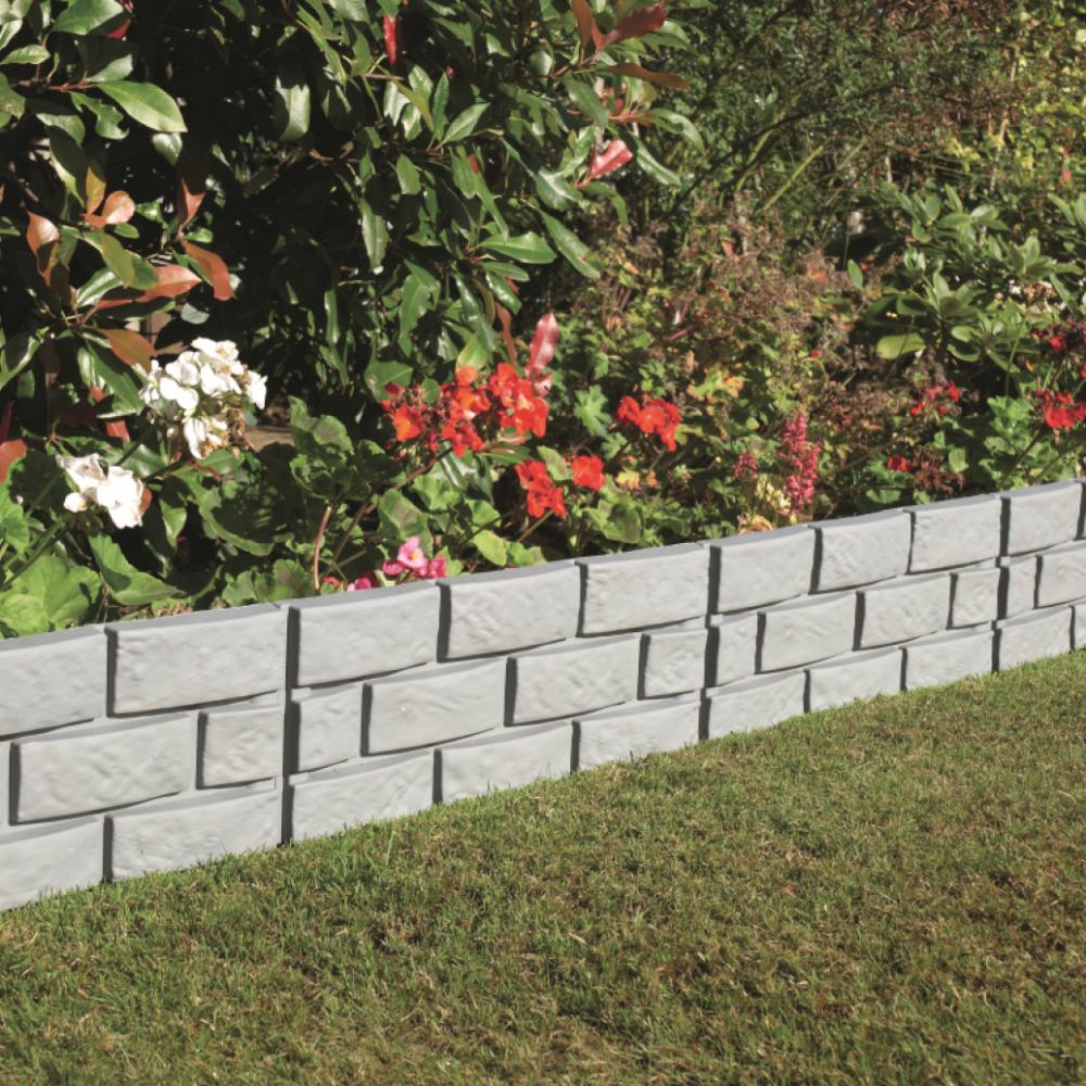 Greenhurst Brick Effect Garden Border Pack Of Four