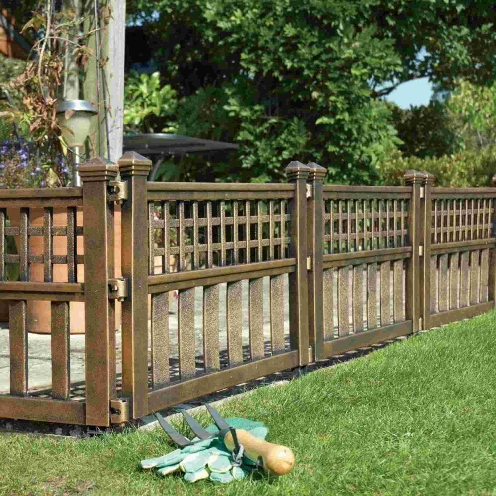 Plastic Fence Panels - Pack Of Four