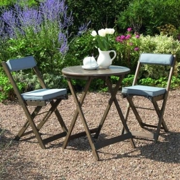 Raffles Bistro Set With Cushions