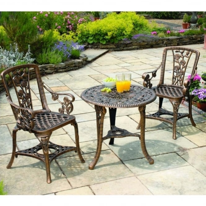 Greenhurst Rose Bistro Set