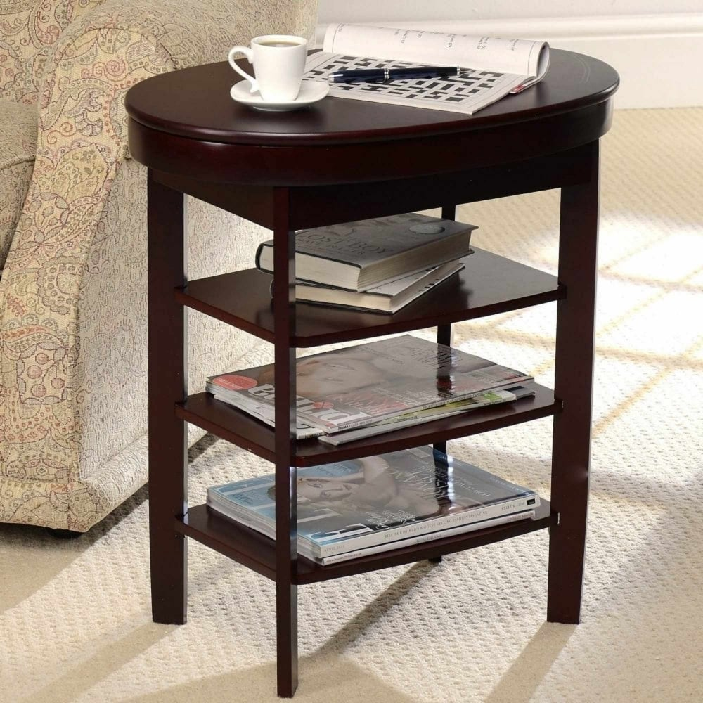 Charming Swivel Top Side Table
