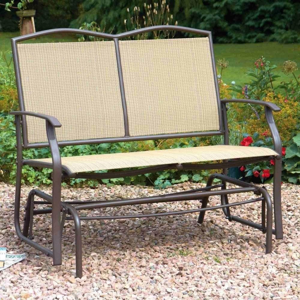 Greenhurst Two Seater Glider Bench Garden Street