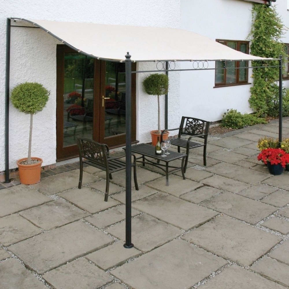 Wall Mounted Gazebo & Greenhurst Wall Mounted Gazebo | Garden Street