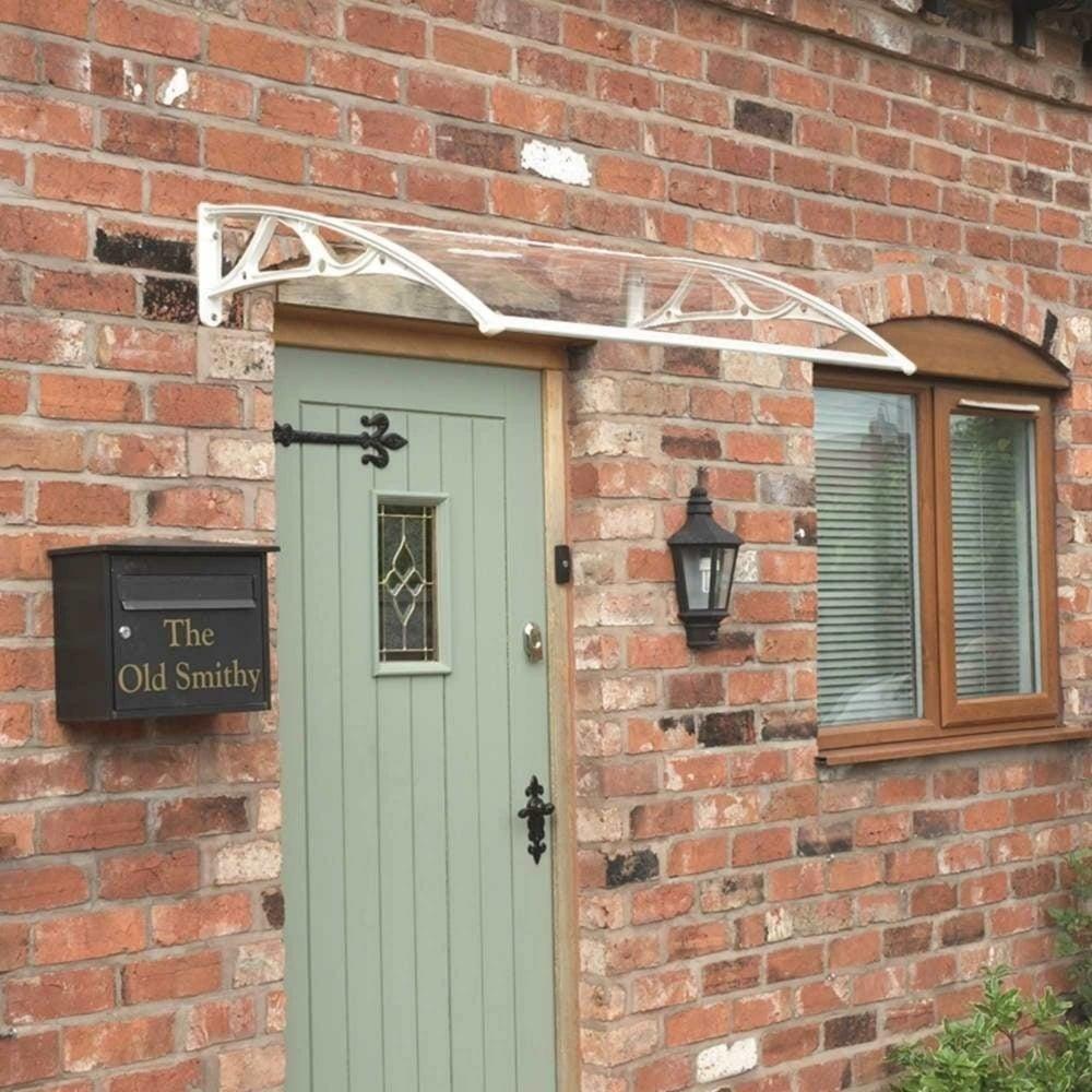 Greenhurst White Door Canopy Garden Street