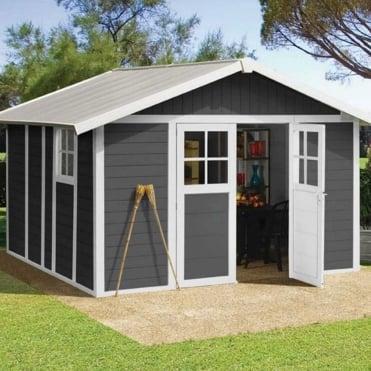 Garden Deco PVC Shed 12X13