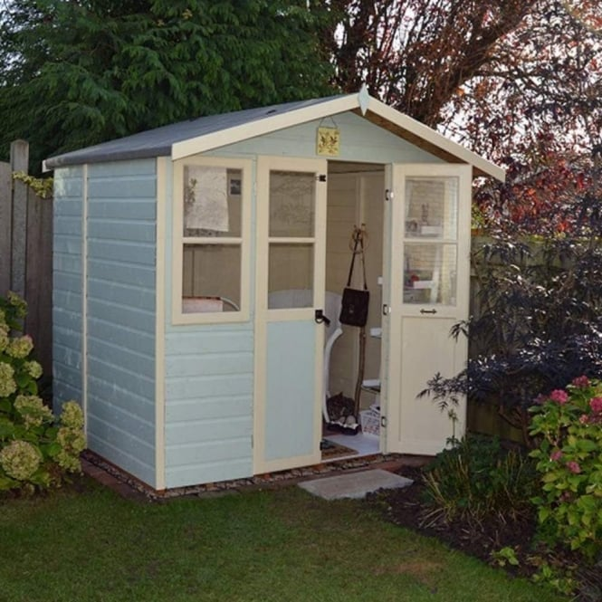 Shire Haddon Shiplap Summerhouse 7x5