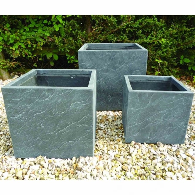 The Garden Feature Company Harby Set of 3 Planters