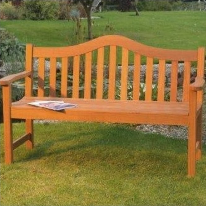 Lifestyle Hardwood 3 Seater Bench