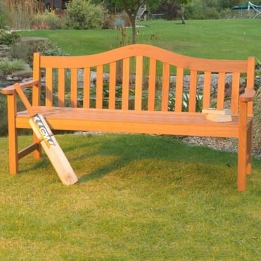 Hardwood 4 Seater Bench