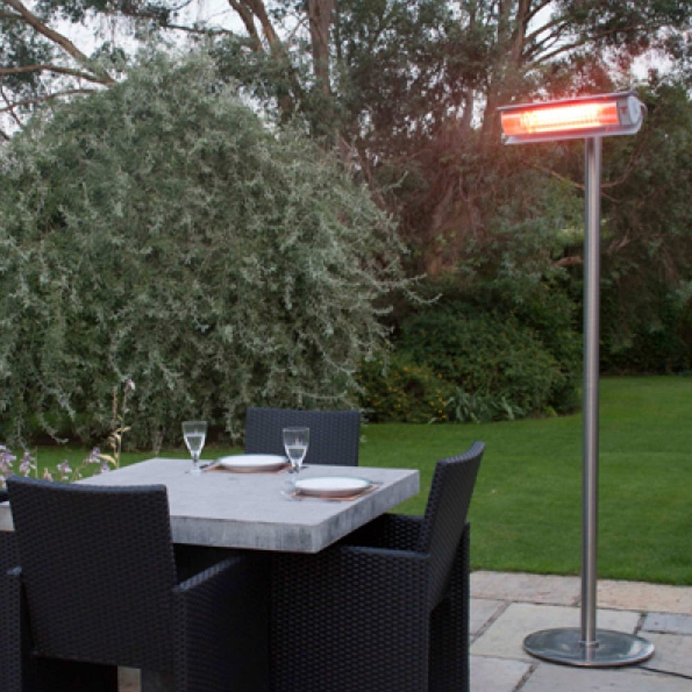 Ultra 1500W Infrared Free Standing Patio Heater