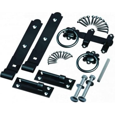 Hook & Band Gate Hinges & Ring Handle Kit