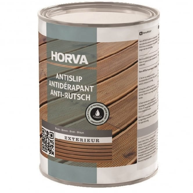 Horva Anti-Slip Decking Stain 1L