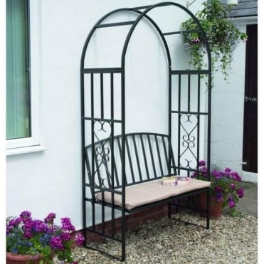 Huntingdon Arbour With Cushion