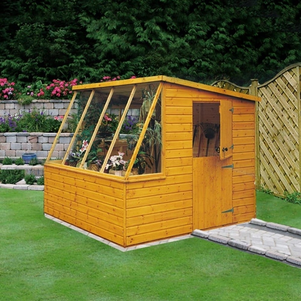 Shire Iceni Potting Shed 6x8 Garden Street