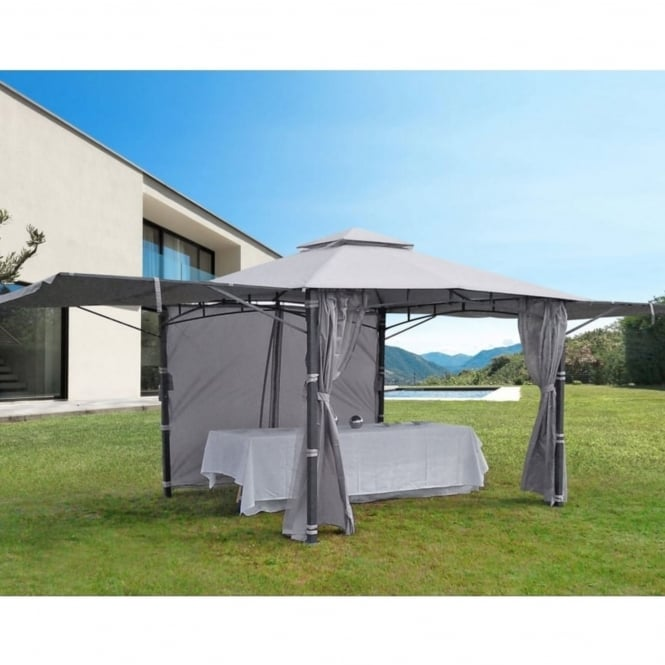 Ideanature Eventail Gazebo With Raising Sides