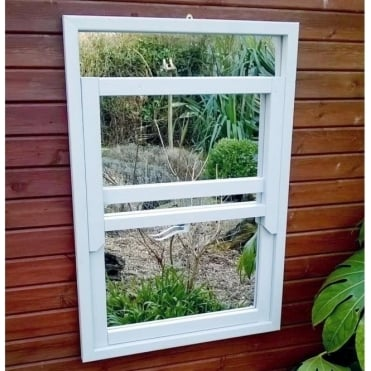 Illusion Sash Window Garden Mirror