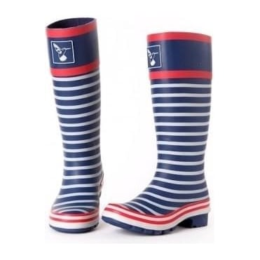 In the Navy Wellies