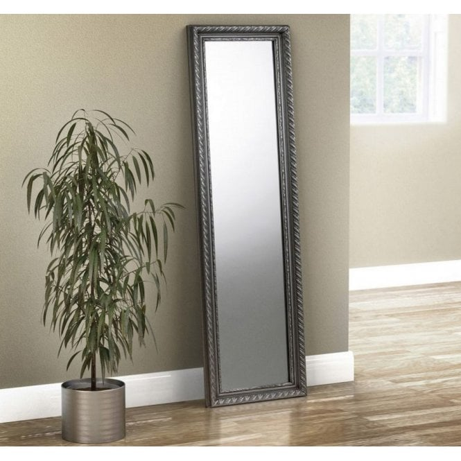 Image of Allegro Pewter Dress Mirror