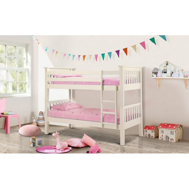 Image of Barcelona Bunk Bed - Stone White