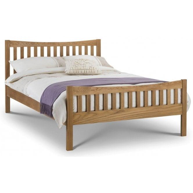 Image of Bergamo Oak King Size Bed