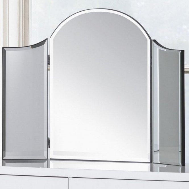 Image of Canto Curved Dressing Table Mirror