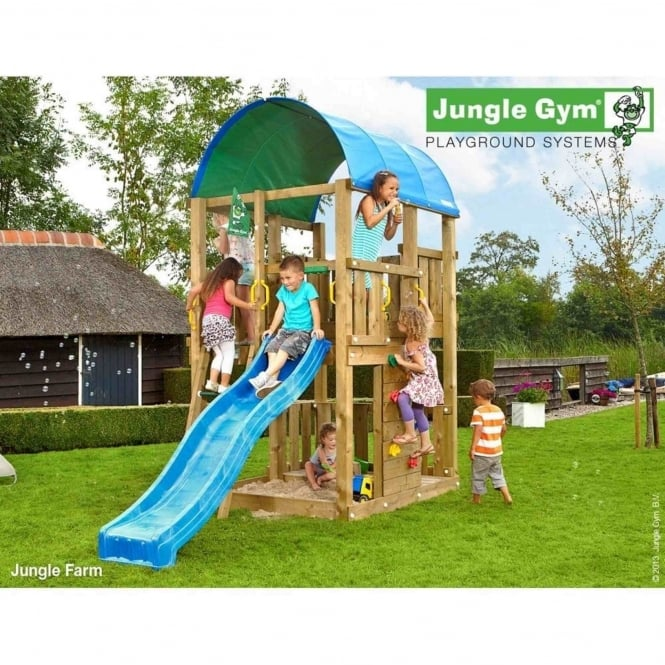 Jungle Gym Jungle Farm Including Slide