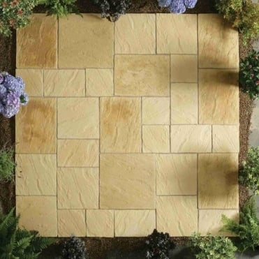 Abbey Paving Patio Kit 5.76m²