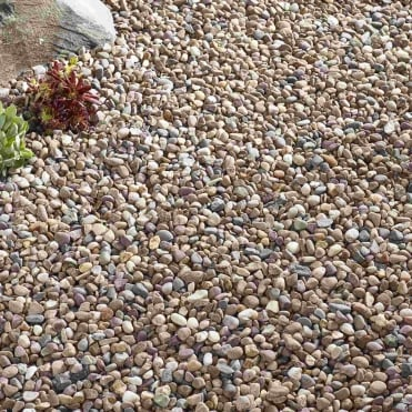 Bulk Bag Quartzite Pea Pebbles 10mm