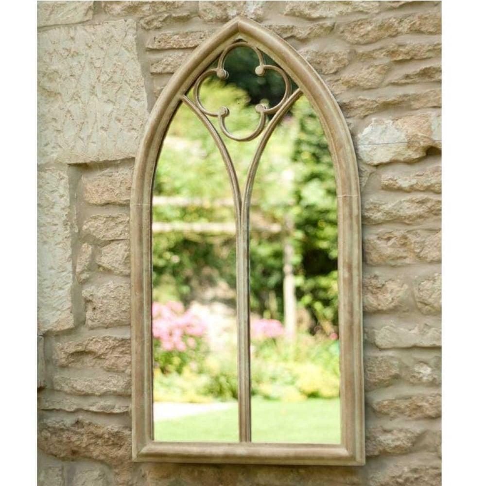 La Hacienda Church Window Garden Mirror Garden Street