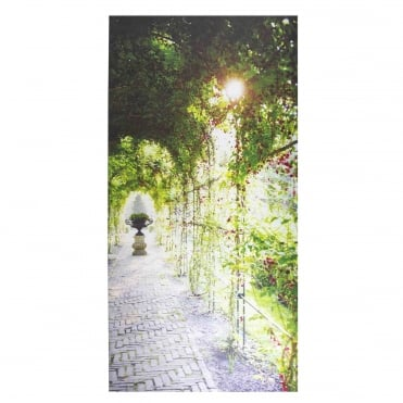 Covered Path Outdoor Canvas