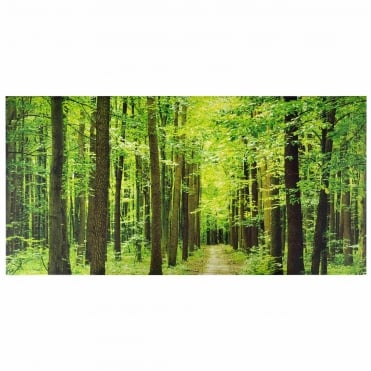 Forest Path Outdoor Canvas