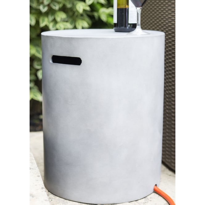 La Hacienda Gas Cylinder Cover Cement Grey