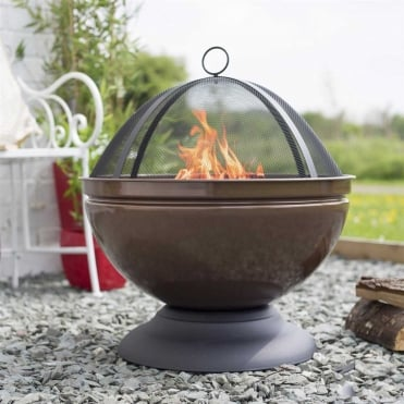 Globe Firepit With Grill