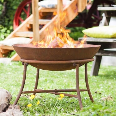 Karat Firepit With Steel Stand