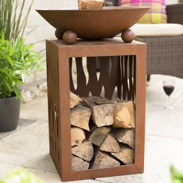Ochiba Firepit With Stand