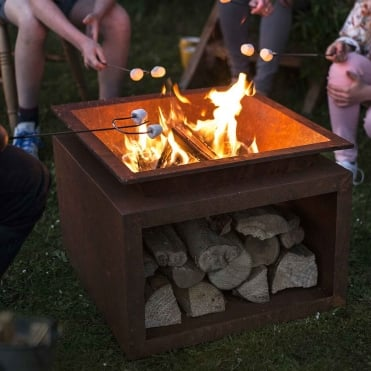 Ruga Firepit with Stand