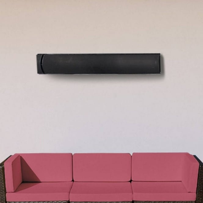 La Hacienda Slimline Wall Mounted 2400W Radiant Heat Strip