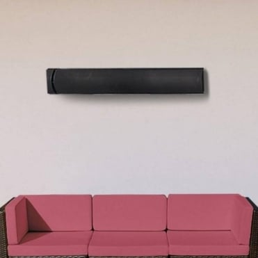 Slimline Wall Mounted 2400W Radiant Heat Strip