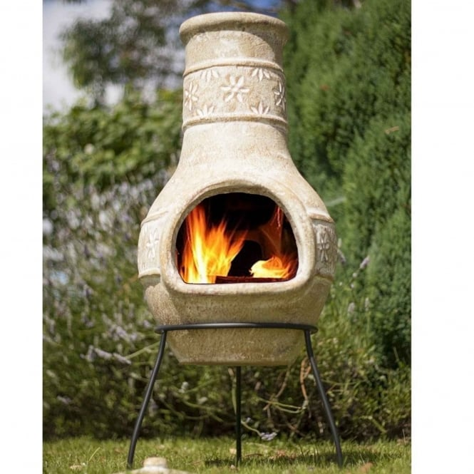 La Hacienda Star Flower Medium Chimenea