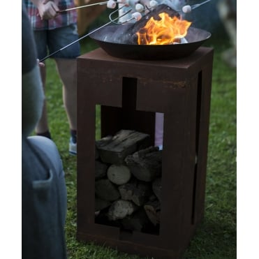 Teya Firepit With Stand