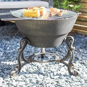 Volta Firepit With Grill