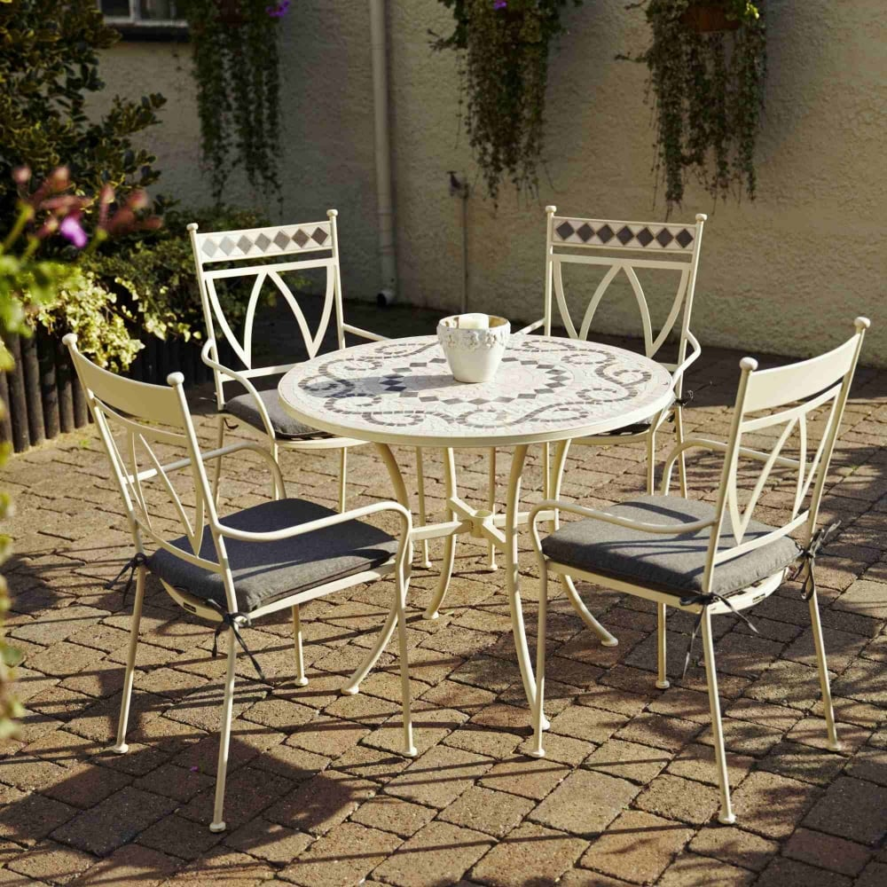 LeisureGrow Marrakech 4 Seater Dining Set | Garden Street