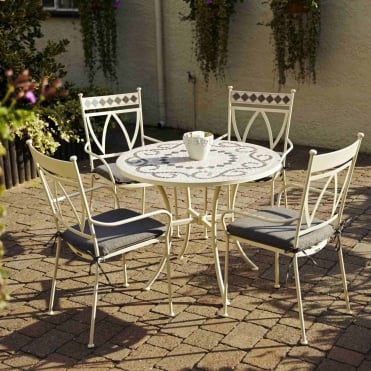 Marrakech 4 Seater Dining Set