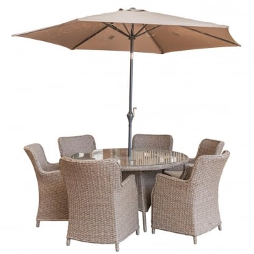 Saigon 4 Seater Dining Set