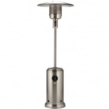 Edelweiss Stainless Steel 13kW Gas Patio Heater