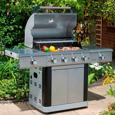 St Lucia Basic 4 Burner Gas BBQ
