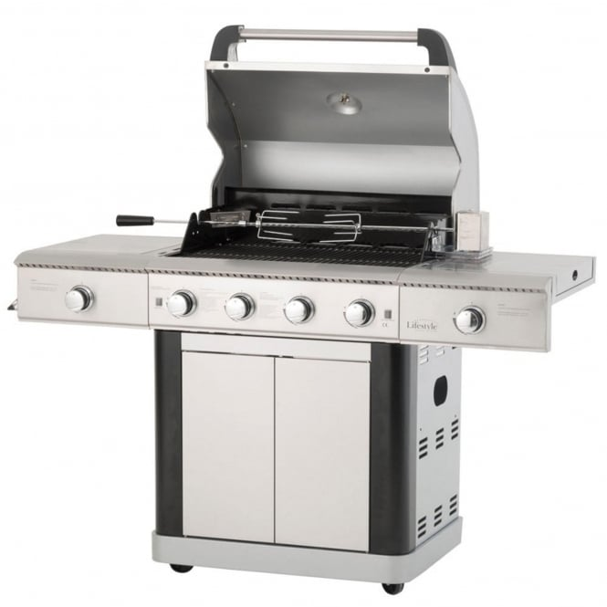 Lifestyle St Lucia Deluxe 4 Burner Gas BBQ